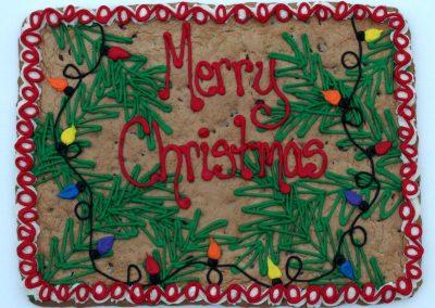 Christmas Cookie Sheet