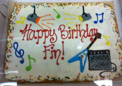 Birthday Cookie Cakes