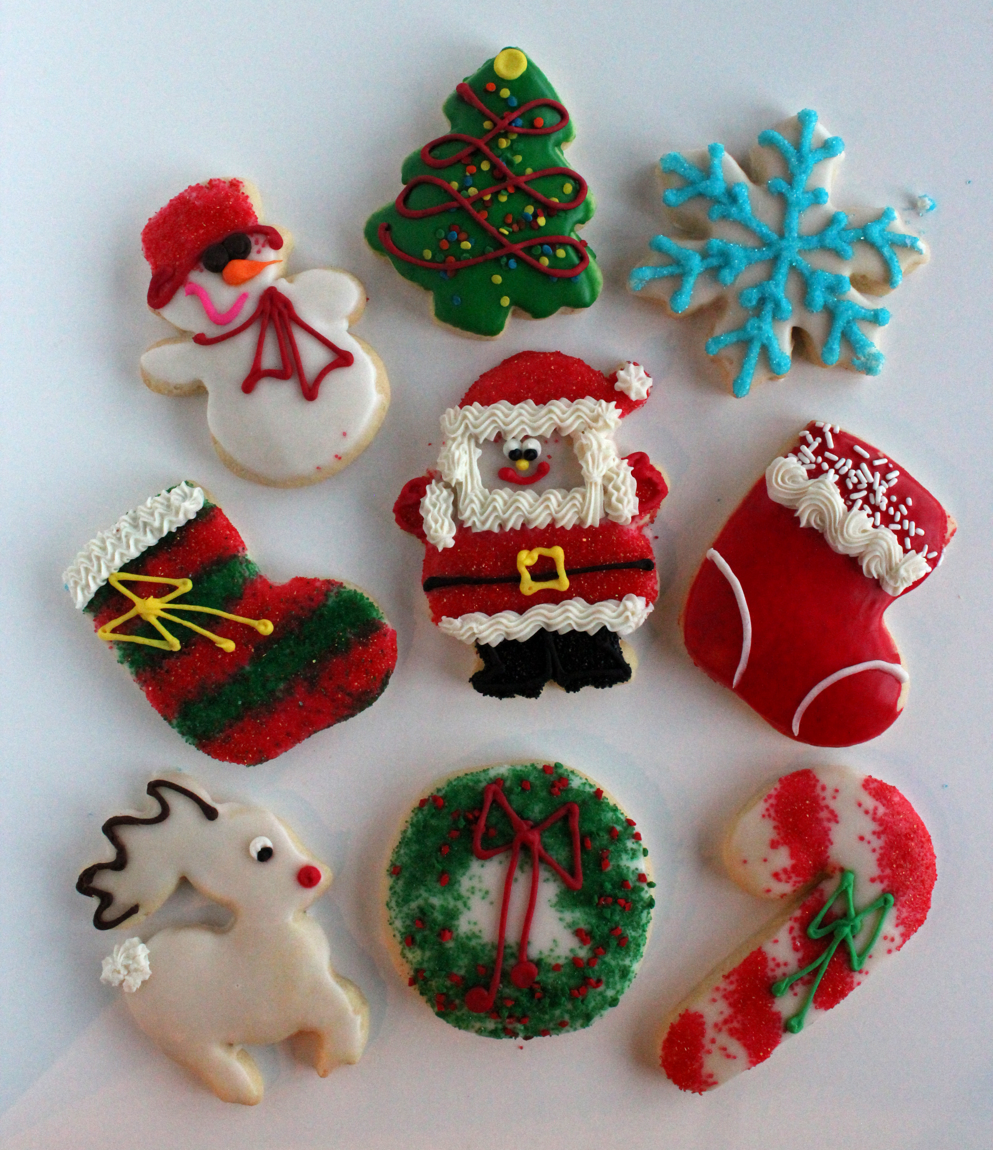 Cut Out Decorated CookiesThe Cookie Company