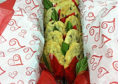 Long Stem Cookie Bouquet 1 Dozen